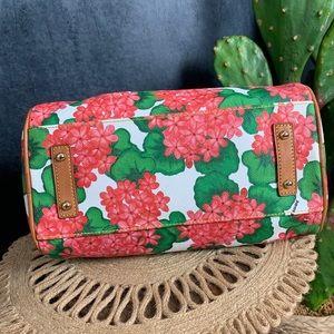 Dooney & Bourke Bags - 🌵Dooney & Bourke Pink Hydrangea Floral Satchel